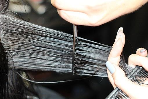 obcięcie włosów