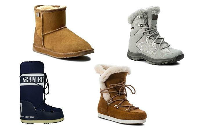 Co wyróżnia modne śniegowce?