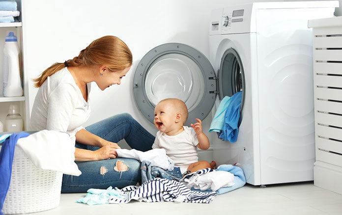 Jak prać ubranka dziecka z alergią?